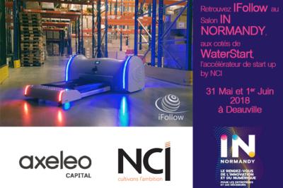 iFollow, constructeur spécialiste de la robotique en entrepôts lève 1,2 M€