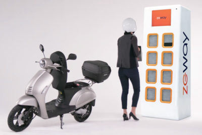 Monoprix et ZEWAY s'associent pour faciliter la vie des utilisateurs de scooters électriques à Paris