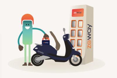 Zeway lève 15 millions d'euros pour déployer un scooter propre qui se recharge en une minute