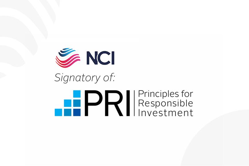 NCI signataire des Principes pour l'Investissement Responsable