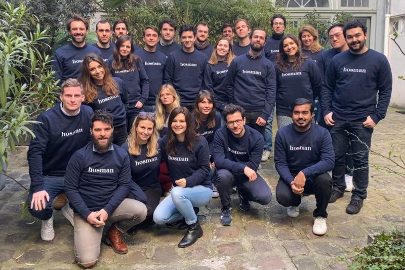 La neo agence HOSMAN lève 6 millions d'euros pour accélérer la révolution immobilière en France